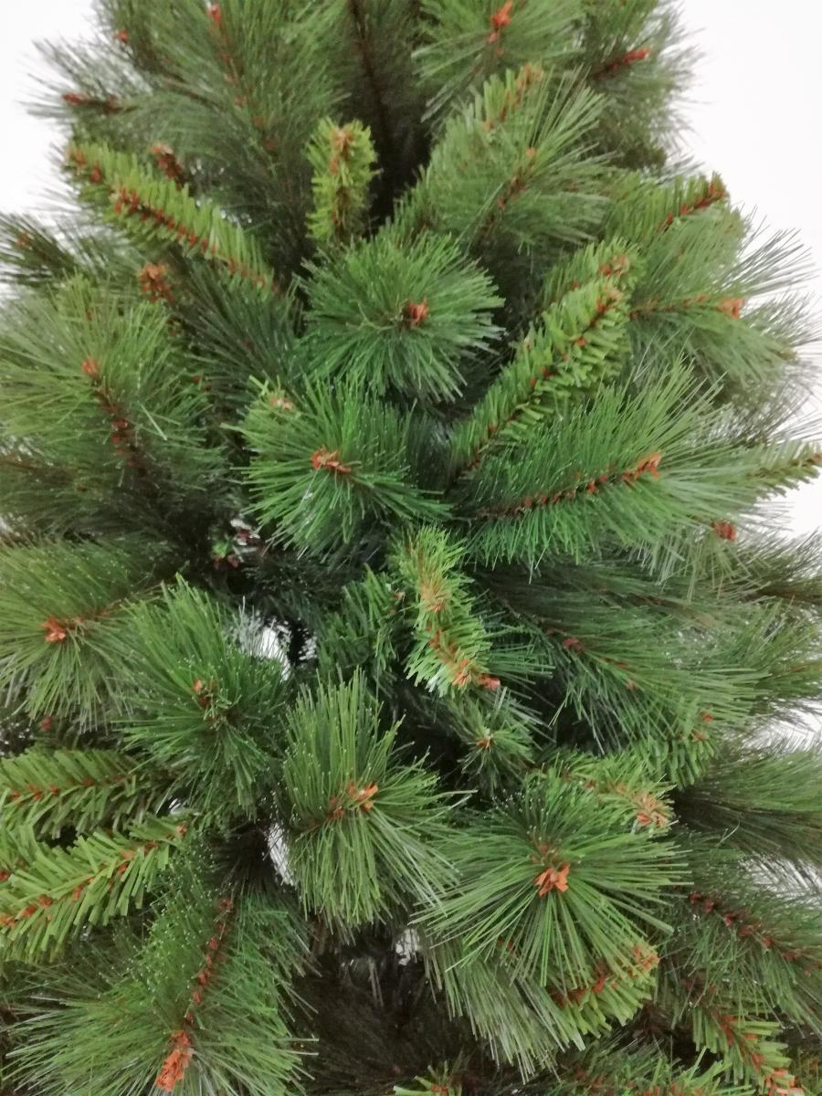 Albero Di Natale Stretto.Albero Di Natale Slim Mod Lapponia Cm 210h Salvaspazio Albero Natalizio Stretto Folto