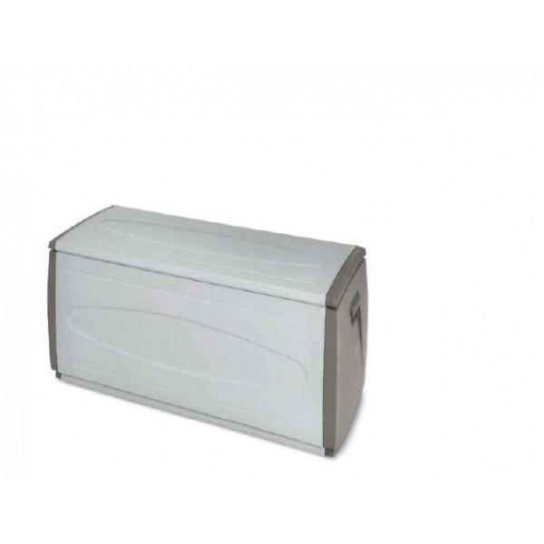 BAULE CASSAPANCA IN RESINA ANTIURTO TERRY BOX TORTORA 140X54X57H CM