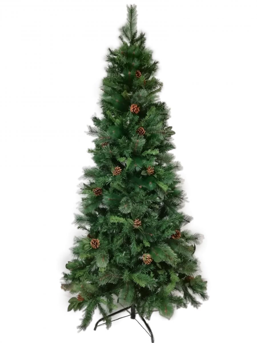 Albero Di Natale Stretto.Acquista Albero Di Natale Mod Norvegia Deluxe Cm 180h Folto Verde Su Opiros