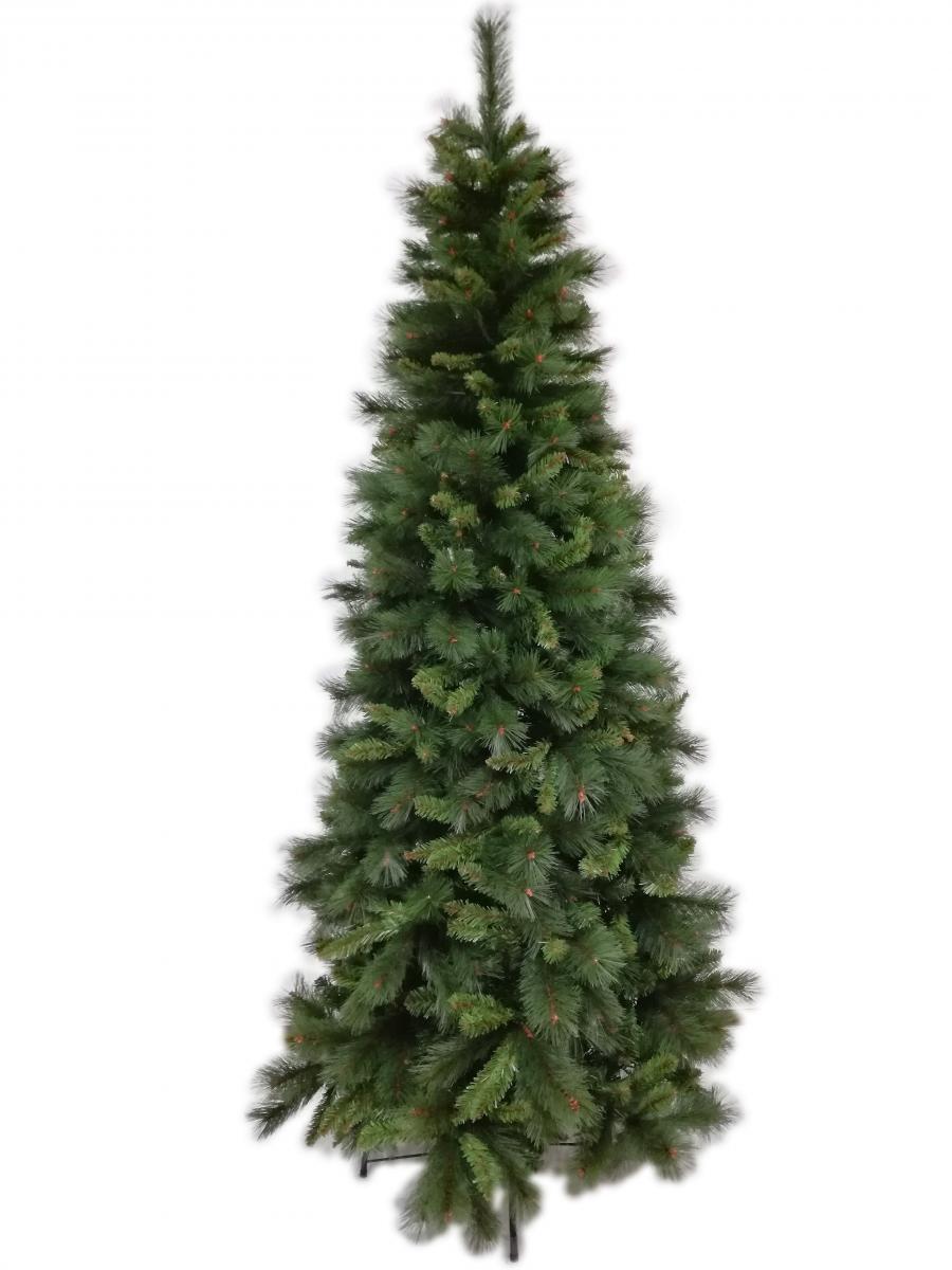 Albero Di Natale Stretto.Acquista Albero Di Natale Slim Mod Lapponia Cm 210h Salvaspazio Su Opiros